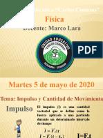 Clase 1 Física 5 de  mayo de 2020 3B IEyME