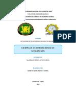 Operaciones de Separación_ Ejemplos