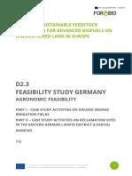 Analiza fezabilitate culturi energetice in Germania