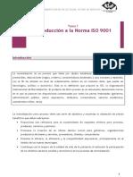Introducción a la Norma ISO 9001