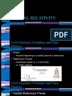 Physics 12-Special Relativity (2016) (1)