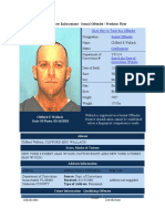 Clifford Wallach Florida Sexual Predator Registry