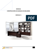 MANUAL DE MELAMINE MODULO 1