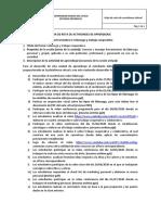 HOJA DE RUTA DE ACTIVIDADES DE APRENDIZAJE III unidad