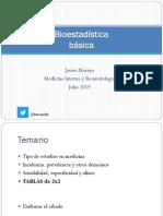 Bioestadística básica2019
