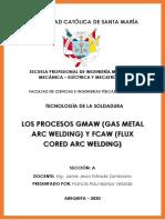 Tecnología de la Soldadura - GMAW & FCAW