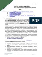 CBE-PR-ASP-N3 Procedimiento homologacion ASPERSUD documentaria V01-2020