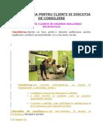 PREOCUPAREA PENTRU CLIENTI SI DISCUTIA DE CONSILIERE - 4.05.2020