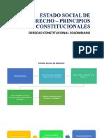 ESTADO SOCIAL DE DERECHO – PRINCIPIOS CONSTITUCIONALES