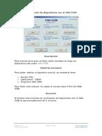 Verificación de dispositivos con el VAG-COM