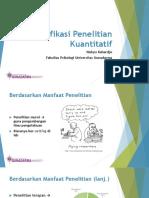 4 - Klasifikasi Penelitian Kuantitatif.pdf