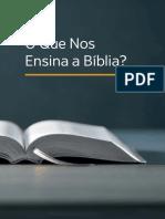 O que nos ensina a Bíblia - Testemunhas de Jeová