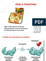Vitaminas hidrosolubles y Coenzimas
