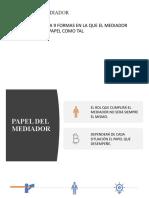 EL PAPEL DEL MEDIADOR