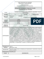 1. Programa de Formación Gestion integrada de la calidad medio ambiente seg  y salud  ocupacional