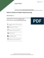 Skills to Enhance Problem based Learning.pdf