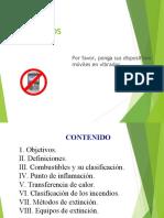 CONTROL DE INCENDIO BASICO COLMENA