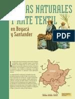 Fibras naturales y arte textil en Boyacá y Santander