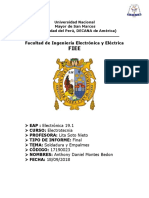 Informe Final 2 - Electrotecnia