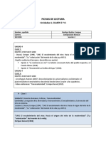 FICHAS DE LECTURA Clases 5 y 6- UNIDAD IV.
