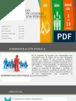DIFERENCIA ENTRE ADMINISTRACIÓN GENERAL Y ADMINISTRACIÓN PÚBLICA