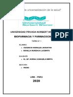 BIOFARMACIA Y FARMACOCINETICA