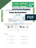 formas de fracciones
