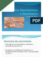 Hormonas Hipotalámicas e Hipofisiarias