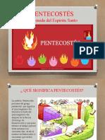 PENTECOSTÉS  Y LOS DONES DEL ESPÍRITU SANTO.pptx