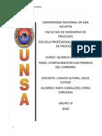 Configuracion Electronica del Carbono.docx