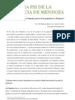 Entrevista a Juan José Vilapriño, pionero de la psiquiatría de Mendoza.