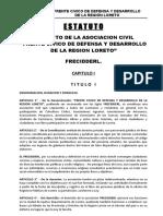 ESTATUTO REVISADO FRENTE CIVICO