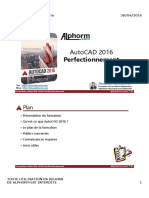 Alphorm.com Ressources Formation AutoCAD 2016 Perfectionnement