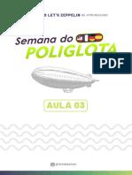 Aula 03 - Semana do Poliglota