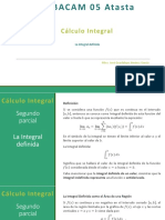 La integral definida