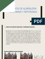 Ensayos en Albañilería confinada y reforzada