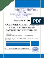 JURADO - COMPORTAMIENTO BASE Y SUBBAS PAVI FLEXIBLE
