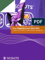 Plan Régional Scout 2010-2013