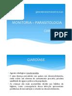 GIARDÍASE - MONITORIA PDF