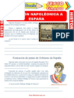 Invasión-Napoléonica-a-España-para-Sexto-Grado-de-Primaria