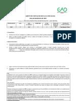 plano de actividades de TPFP