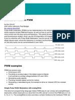 Secrets Of PWM
