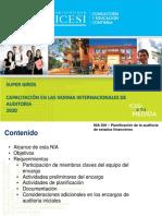 9 NIAS 300 Planeación de Auditoria