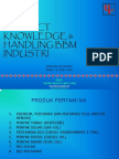 Pertamina Product Knowledge