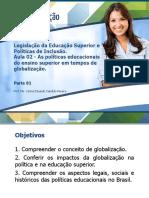Aula 02 - As políticas educacionais