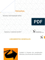 PPT- MINUTA-ESCRITURA DE CONSTITUCION