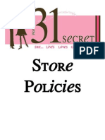 Store Policies (Revised)