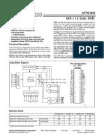CY7C1021 15ZC Cypress Semiconductor