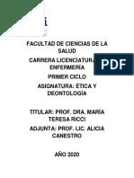 0108 - ÉTICA Y DEONTOLOGÍA 2020