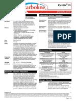 fireproof Datasheet